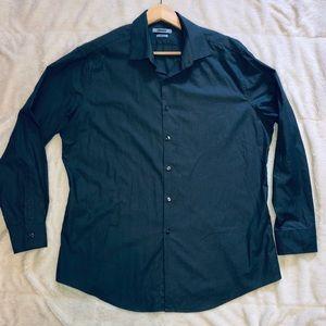 DKNY dress shirt   Dark Grey   sz XL